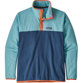Patagonia Micro D Snap-T Midlayer Heren blauw
